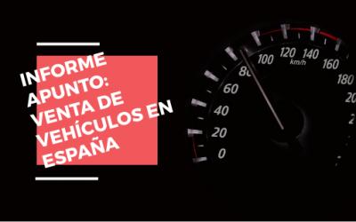 INFORME APUNTO – DATOS DE VENTAS DE VEHÍCULOS ENERO A MAYO 2017