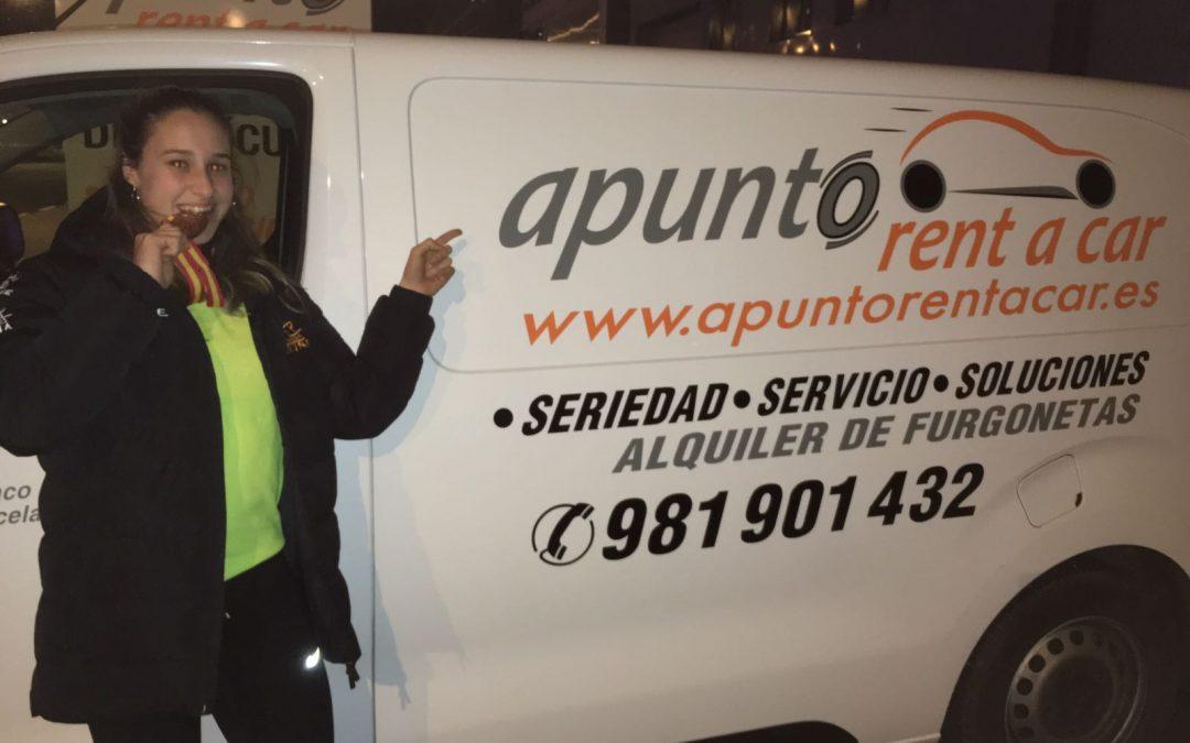 APUNTO RENT A CAR CON EL ATLETISMO PROMESA GALLEGO