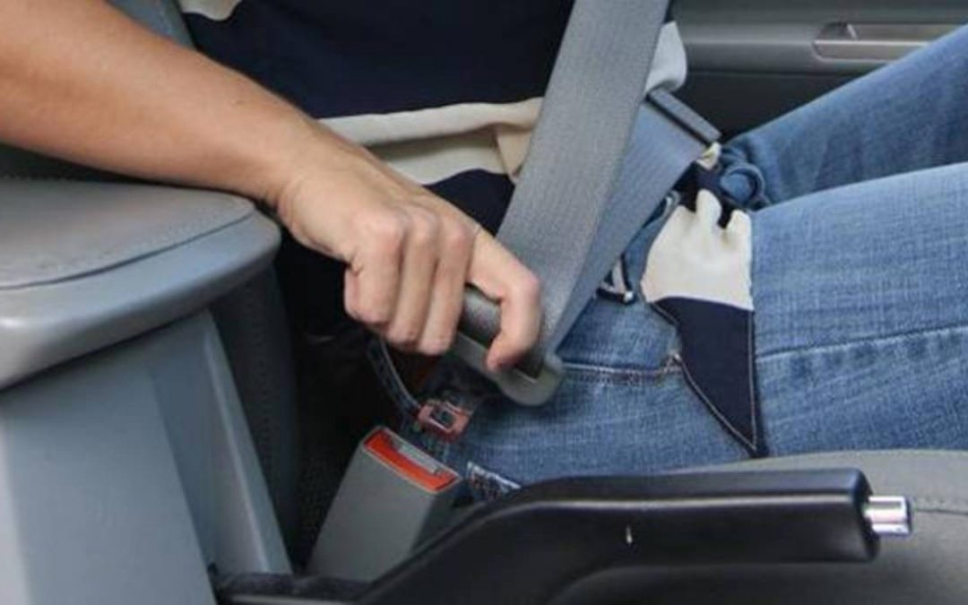 Nueva campaña para el control del uso del cinturón de seguridad
