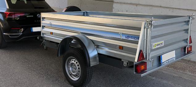 Uso de remolques en vehículos - Apunto rent a car