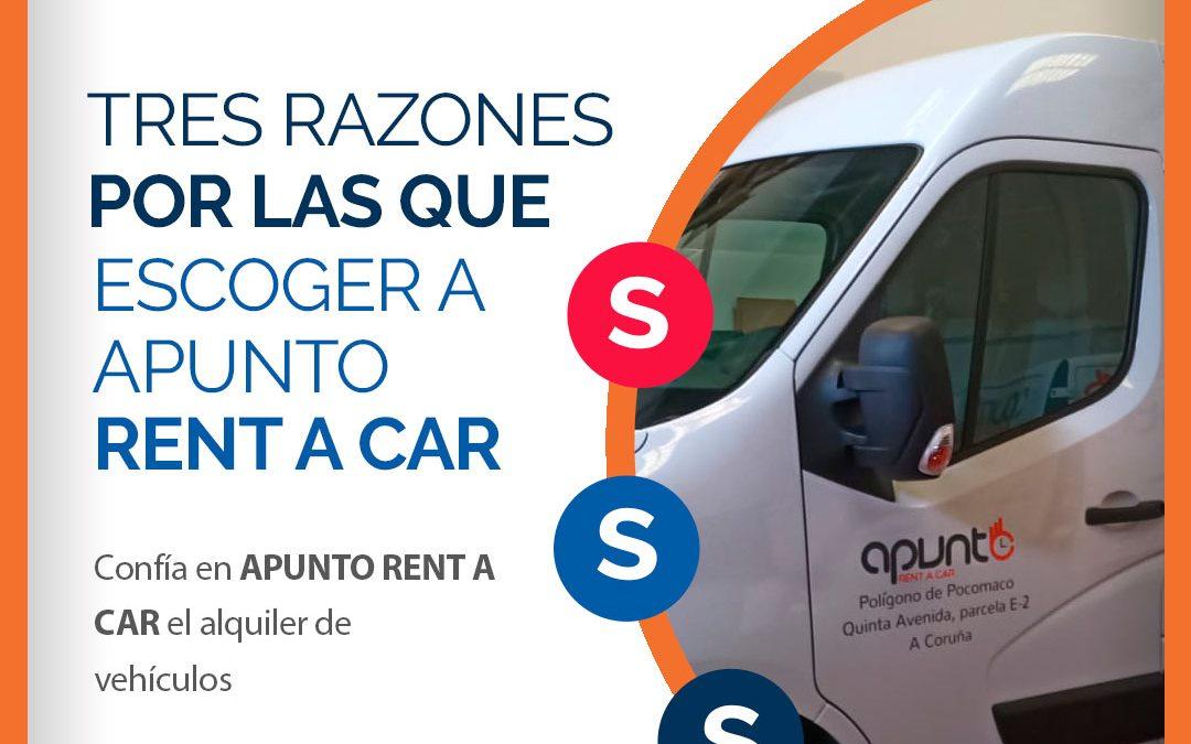 ¿Por qué escoger Apunto rent a Car?